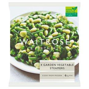 Waitrose Garden Vegetable Steamers
