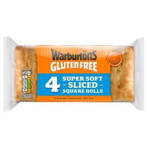 Warburtons GF Soft White Rolls