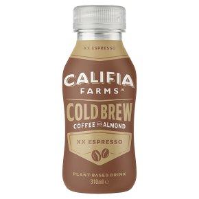 Califia Farms XX Espresso Cold Brew Coffee with Almond