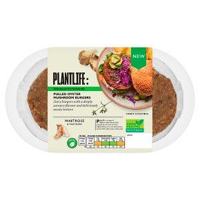 Plantlife: Pulled Oyster Mushroom Burgers