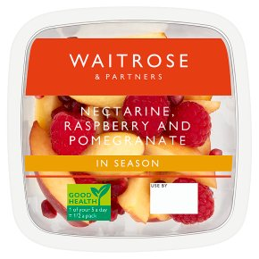 Waitrose Nectarine, Raspberry & Pomegrante