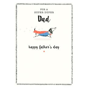Super Duper Fathers Day Card
