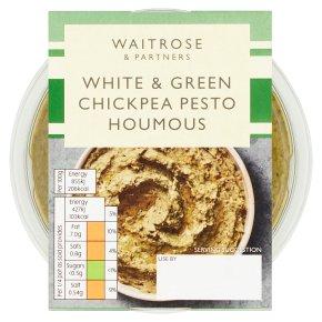 Waitrose White & Green Chickpea Pesto Houmous
