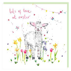 Lots Of Love At Easter Card