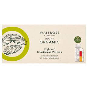 Waitrose Duchy Highland All Butter Shortbread Fingers