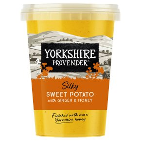 Yorkshire Provender Sweet Potato Soup with Ginger & Honey