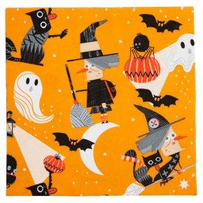 Waitrose Halloween Napkins 16pk