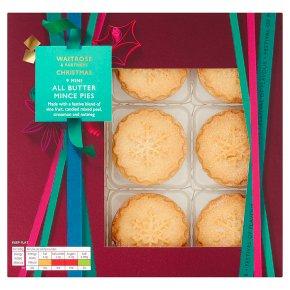 Waitrose Christmas Mini All Butter Mince Pies