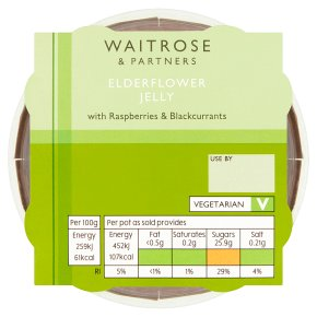 Waitrose Elderflower Jelly
