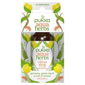 Pukka Organic Aqua Herbs Blend Citrus Zing