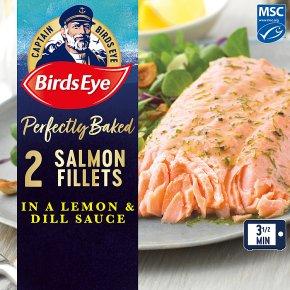 Birds Eye 2 Pink Salmon Fillets in a Lemon & Dill Sauce