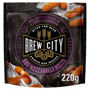 Brew City BBQ Mozzarella Melts
