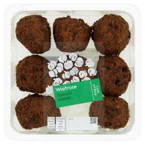 Waitrose World Deli Spinach Falafels
