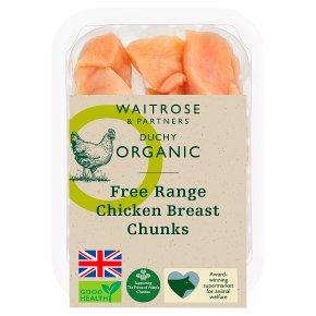 Duchy Organic Free Range Chicken Breast Chunks