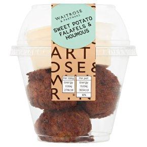 Waitrose Sweet Potato Falafels & Houmous