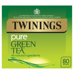 Twinings Pure Green Tea 80 Tea Bags