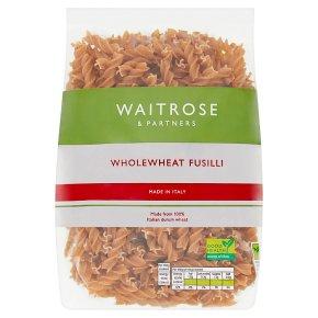 Waitrose Wholewheat Fusilli
