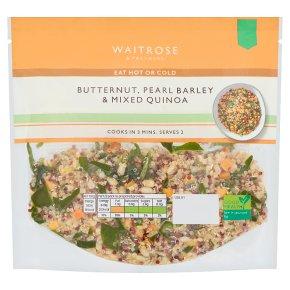 Waitrose Butternut, Pearl Barley & Mixed Quinoa