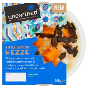 Unearthed Mezze Whipped Goats Cheese Butternut Squash