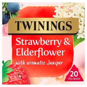 Twinings Strawberry & Elderflower 20 Tea Bags