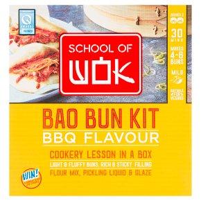 School of Wok BBQ Bao Bun Kit