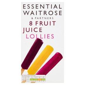 Essential Fruit Juice Lollies