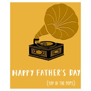 Top of the Pops Fathers Day Card