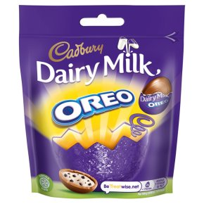 Cadbury Dairy Milk Oreo Filled Chocolate Mini Eggs Bag