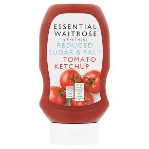 Essential Reduced Sugar & Salt Ketchup