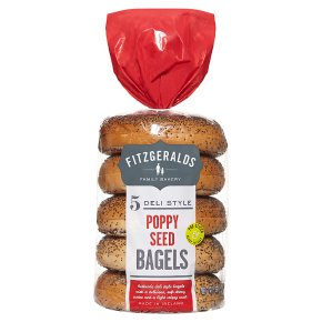 Fitzgeralds Poppy Seed Bagels