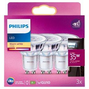 Philips LED Warm White GU10 3.5w