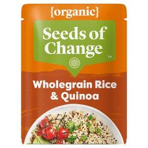 Seeds of Change Organic Wholegrain Rice & Quinoa