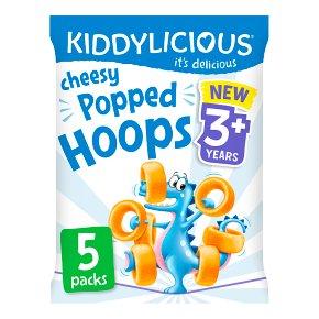 Kiddylicious Cheesy Popped Hoops