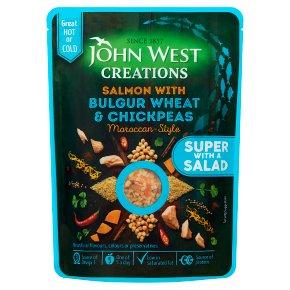 John West Creations Salmon with Bulgur Wheat & Chickpeas