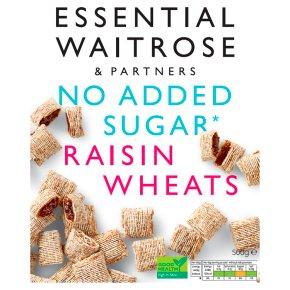 Essential No Added Sugar Raisin Wheats