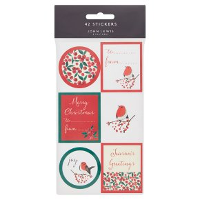 John Lewis Traditional Stickers