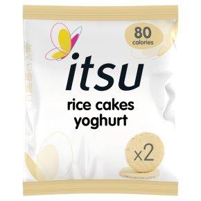 itsu Rice Cakes Yoghurt