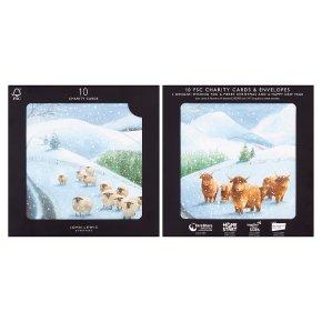 John Lewis 10 Cattle & Sheep Cards