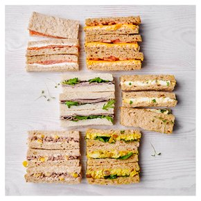 Finger Sandwich Selection, 18 pieces