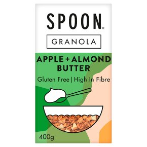 Spoon Granola Apple Almond Butter