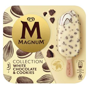 Magnum White Chocolate & Cookies