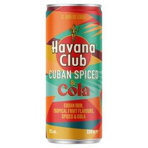 Havana Club Cuban Spiced & Cola