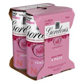 Gordon's Pink Gin & Tonic