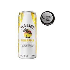 Malibu Rum with Coconut & Pineapple