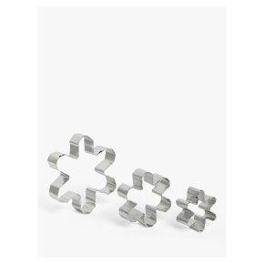 John Lewis Snowflake Cookie Cutters 3s