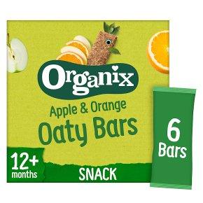 Organix Apple & Orange Oat Bars