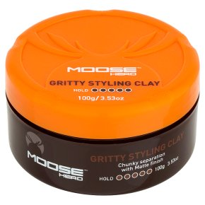 Moosehead Gritty Styling Clay