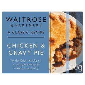 Waitrose Classic Chicken Gravy Pie