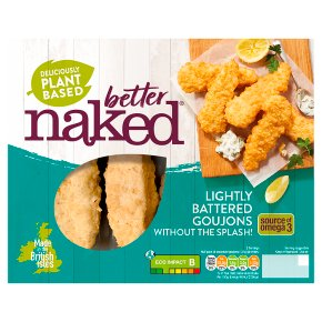 Naked Without The Splash No Fish Goujons