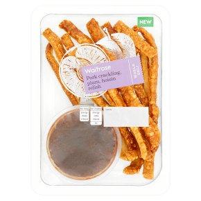 Waitrose WD Pork Crackling Hoisin Relish